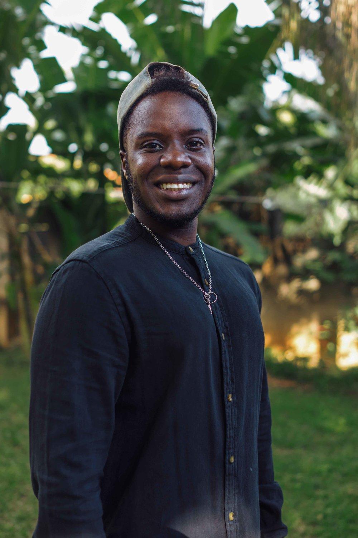 Joseph Kwesiga   Designer  joe@designwithoutborders.com  +256 770 877 943