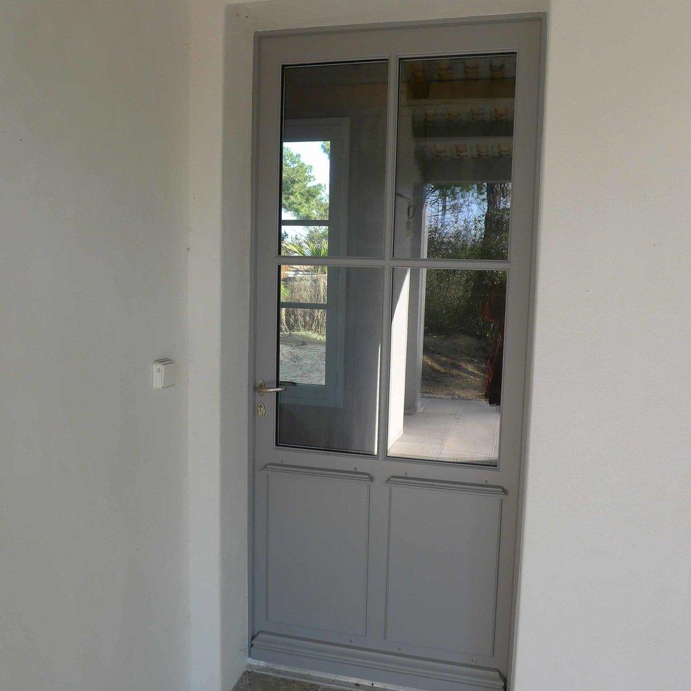 Porte bois 1 vantail