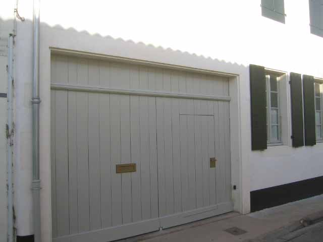 Portail de garage