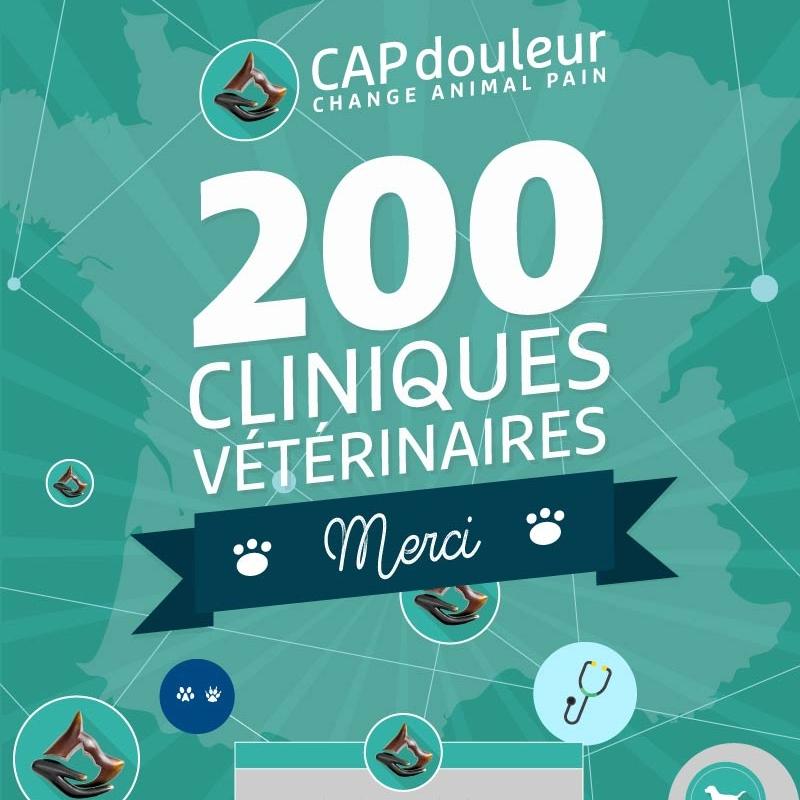 30 Mars 2018 - 200 cliniques adhérentesau Réseau CAPdouleur.