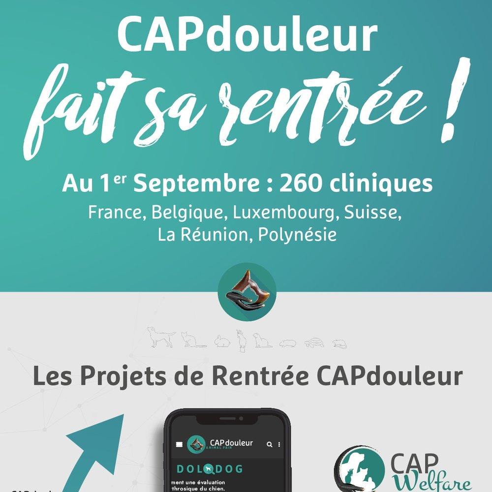 12 septembre 2018 - CAPdouleur fait sa rentrée!