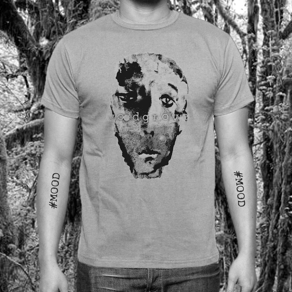 "Unisex ""Mood"" Tee   Original painting by  Kevin Sabik   T-shirt design by  @ghostcloser"