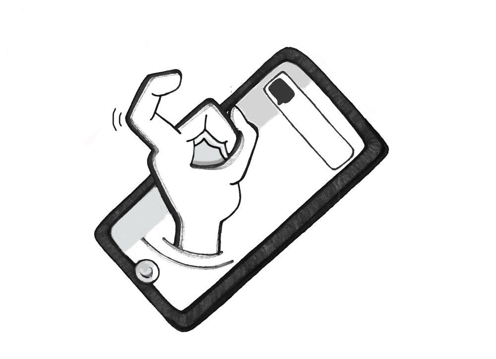 - Telefonen som har krog i mor og far bliver stadig mere intelligent og udspekuleret i at fange og vedholde vores opmærksomhed