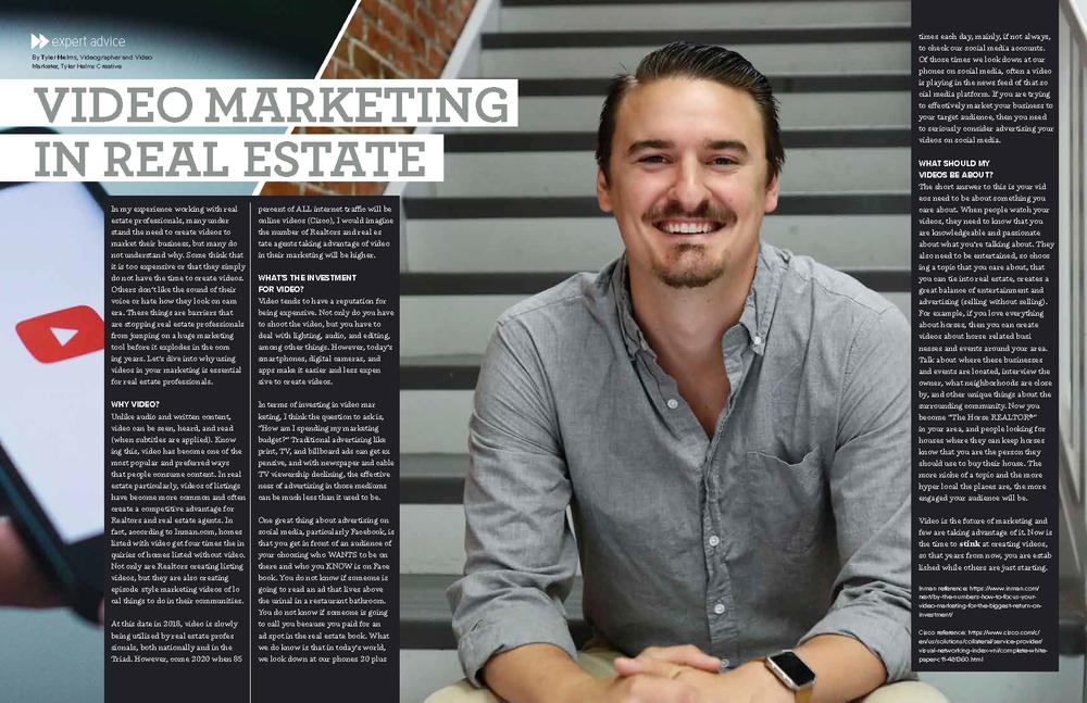 Tyler Helms Creative // NC Videographer Real Estate Commercial Video Marketing tylerhelmscreative.com