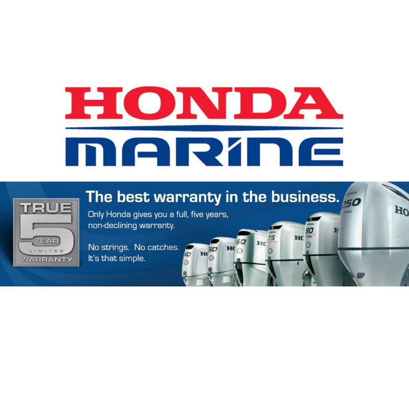 True 5 Year Limited Warranty On Honda Marine Outboard Engines Fcj