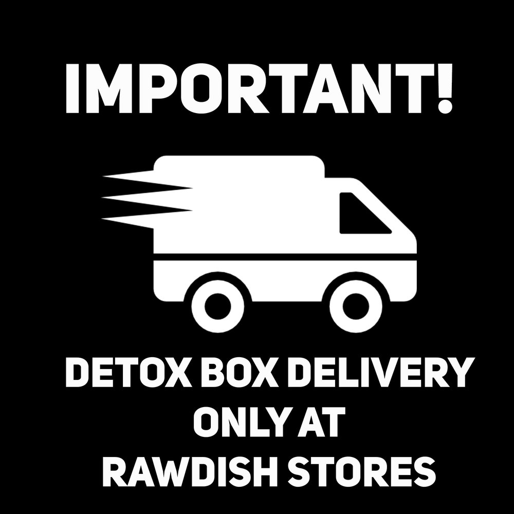 Dear detox lovers, from now on we deliver Juice Boxes ONLY at our stores!     Choose one that suits you most and     Happy Detox ;)