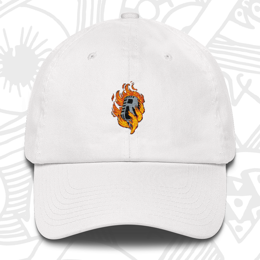 MIC-ON-FIRE-DAD-CAP-WHITE.png