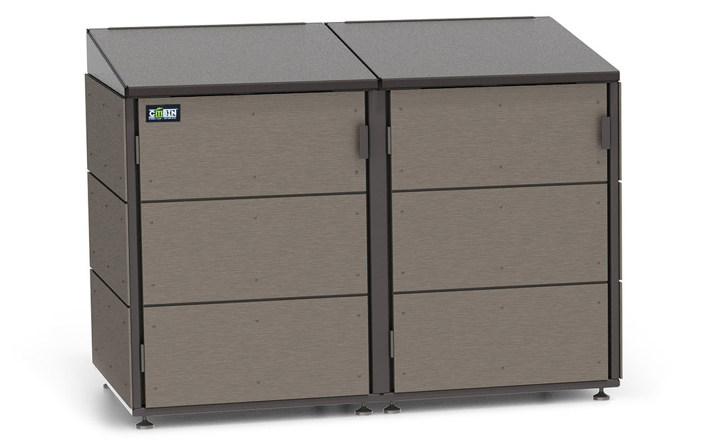 Conceal your trash and improve your homeu0027s curb appeal with CITIBIN an outdoor enclosure for garbage recycling and composting cans.  sc 1 th 177 & CITIBIN TRASH u0026 OUTDOOR ENCLOSURES