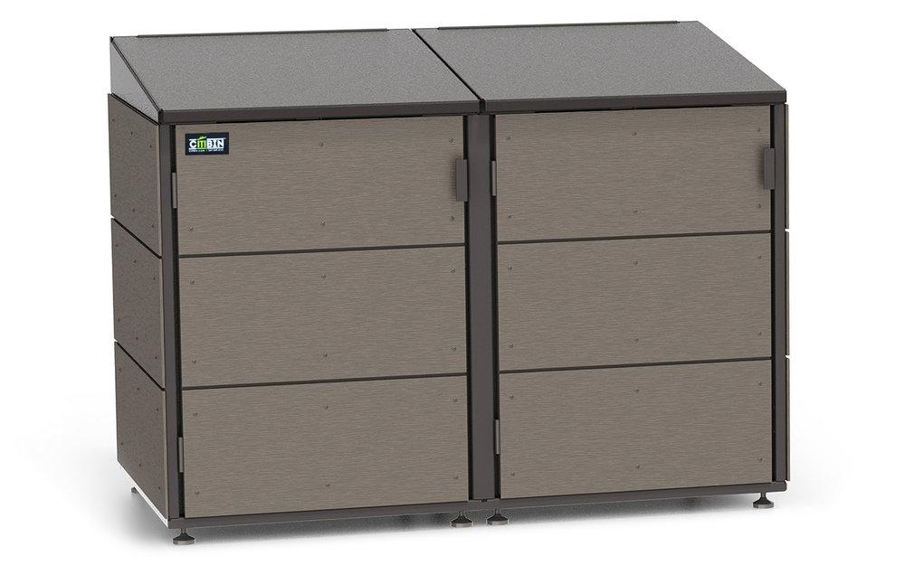 Beau Trash Garbage Enclosure Storage Citibin 2 Module Coffee Homepage Web