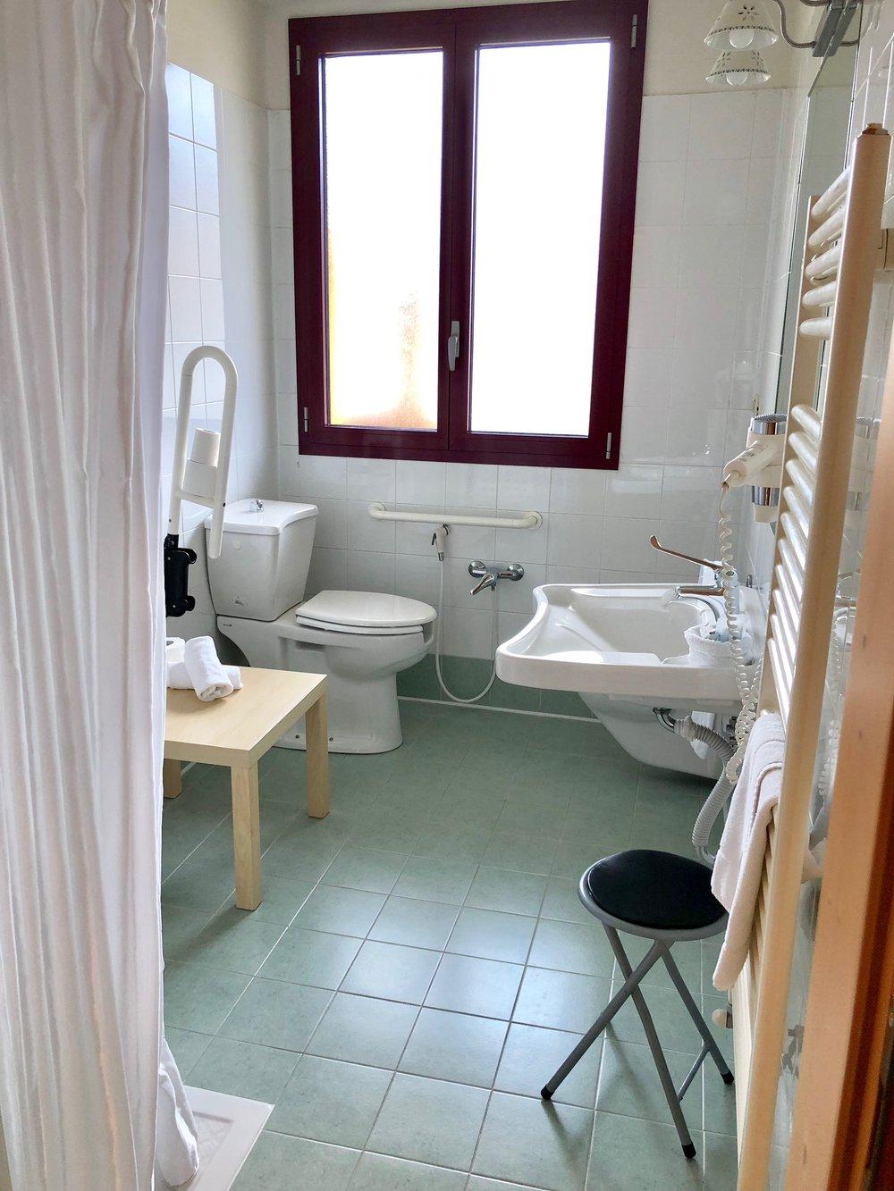 Clean comfortable rooms at the Garden Relais Hotel