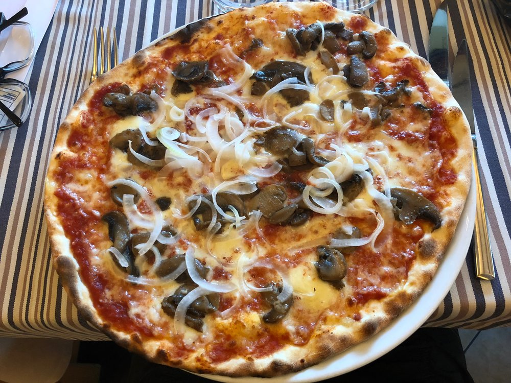 There is nothing like pizza in Italy!