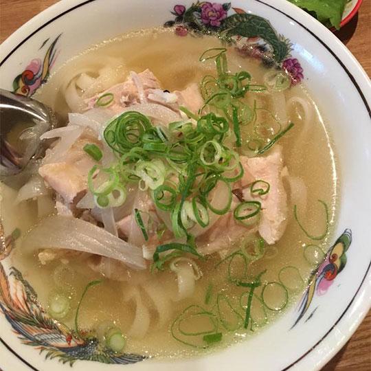 Pho Vietnamese rice noodle soup