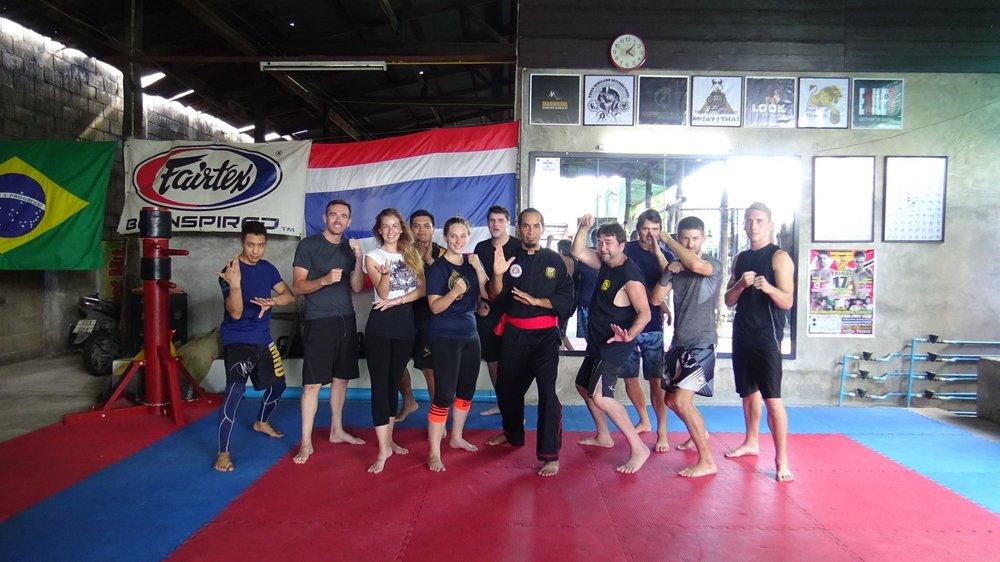 1st Pencak Silat Panglipur seminar at Core Combat Chiang Mai, Thailand.