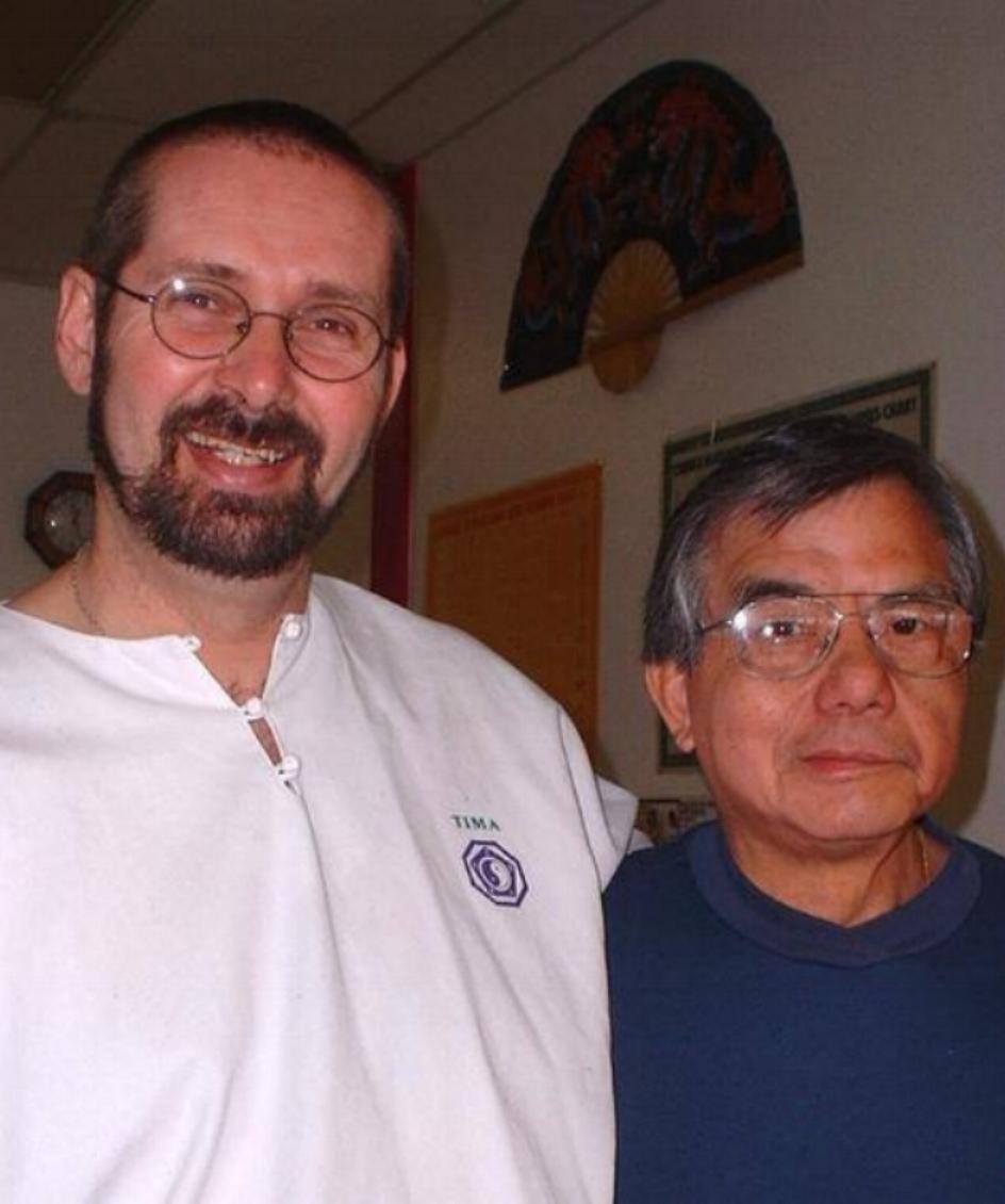 Sifu Dug and GM Henry Look.