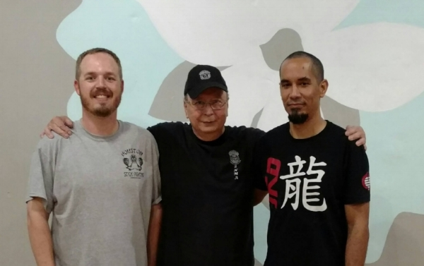 HMAA Instructors Jason, Guro Joe and Kai.