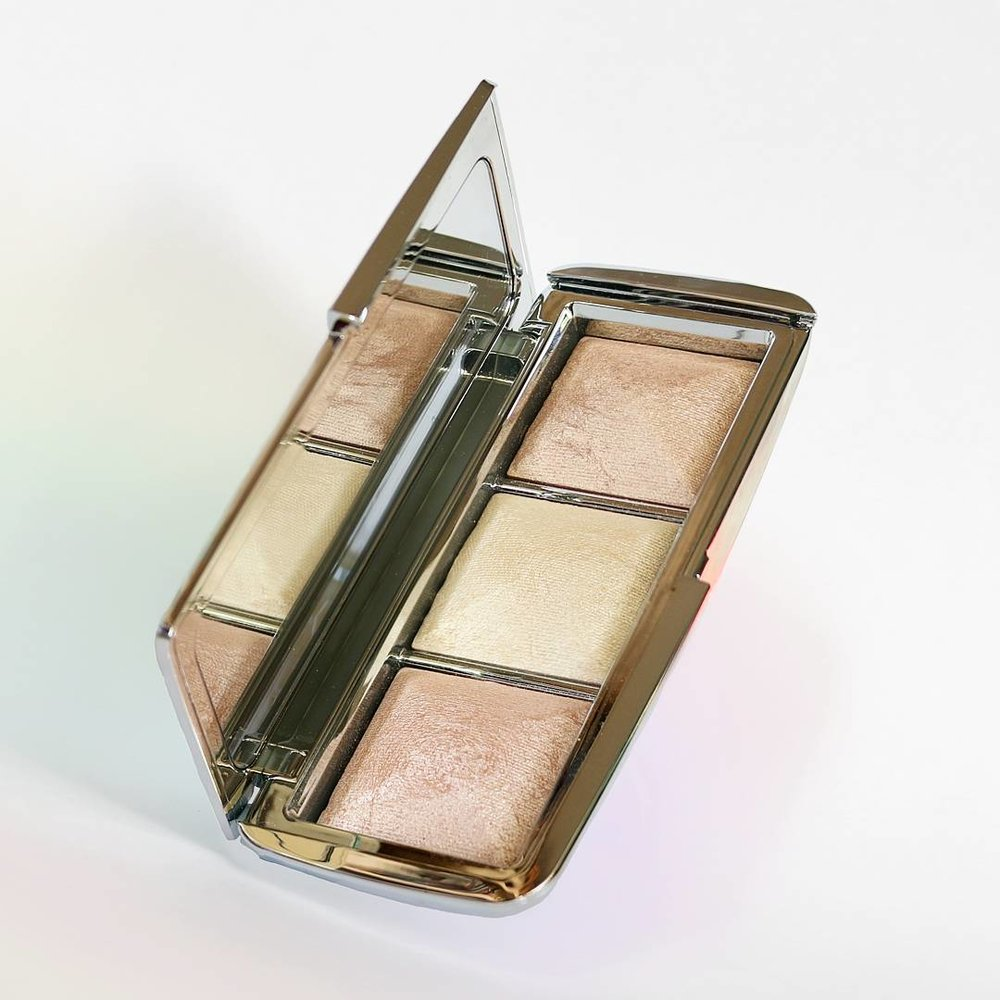 Hourglass Ambient Metallic Strobe Lighting Palette  - From the same collection, we have the highlighting palette. I have said for so many months that I wish Hourglass would bring out a full on highlighter and my dreams came true! Inside you get three powders that are extremely reflective and don't contain any glitter (the perfect combination), unfortunately the shades are quite light so I don't think that this would work well for any of you with deeper skintones. I apply the powder with a damp beauty blender and it melts so nicely into the skin to give it a blinding glow. It is also available right now at Space.NK for £59/$62