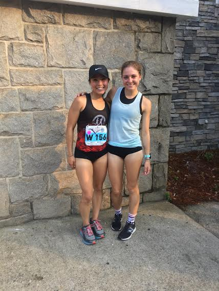 Post-Peachtree with Sakiko Minagawa from Columbus Running Co.