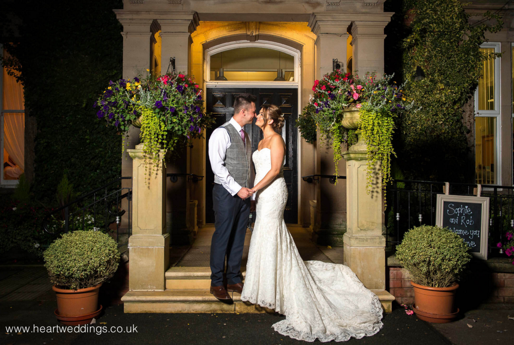 Rodbaston Hall a beautiful 19th century building in the heart of a magnificent 180 hectare country estate. The perfect venue for your special day.