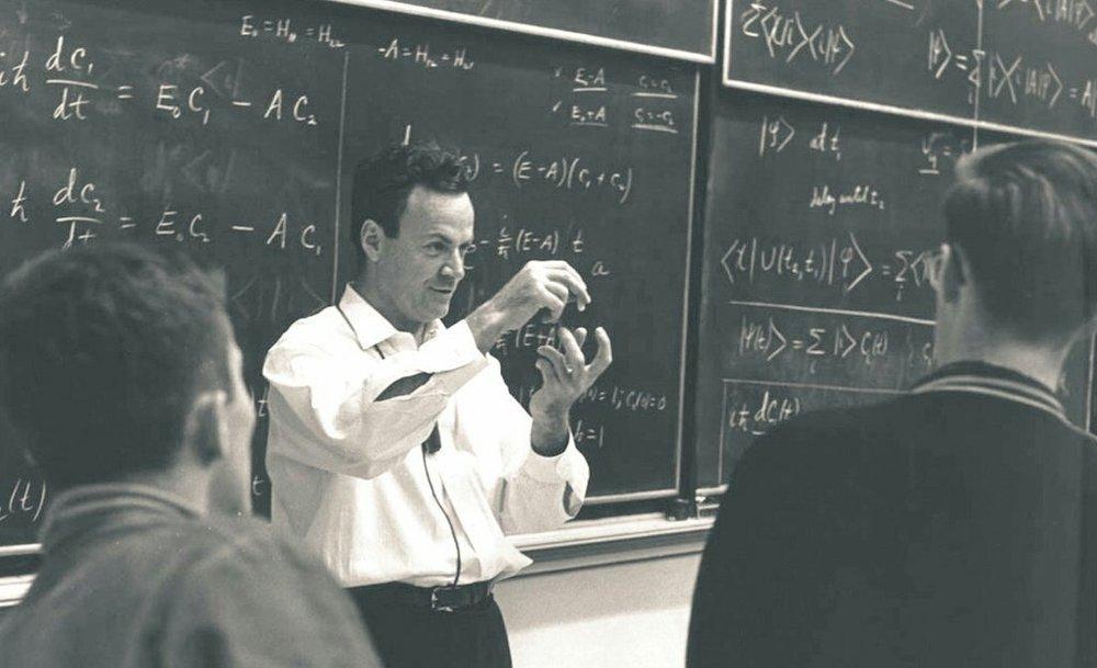 Source:  Prof Feynman