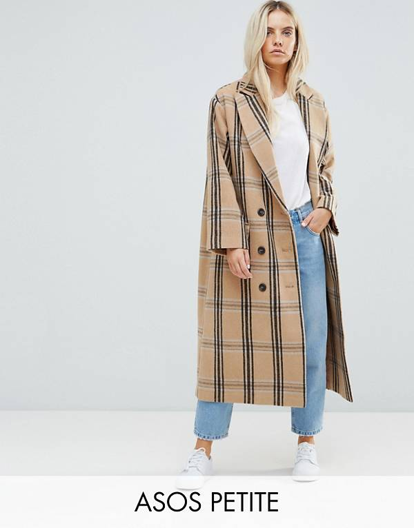 http://www.asos.com/asos-petite/asos-petite-wool-coat-in-check/prd/8253098?clr=multi&SearchQuery=check%20coat&gridcolumn=3&gridrow=2&gridsize=4&pge=1&pgesize=72&totalstyles=72