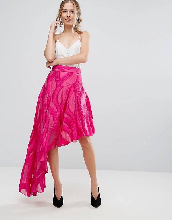 http://www.asos.com/coast/coast-jacquard-asymetric-skirt/prd/8695717?clr=pink&SearchQuery=asymetrical%20skirts&gridcolumn=1&gridrow=2&gridsize=4&pge=1&pgesize=72&totalstyles=5