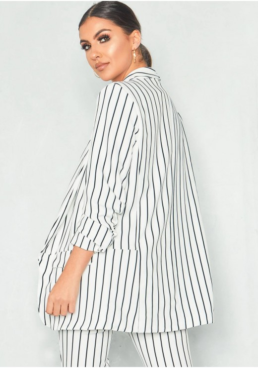 https://www.missyempire.com/aeesha-cream-pinstripe-ruched-sleeve-longline-blazer