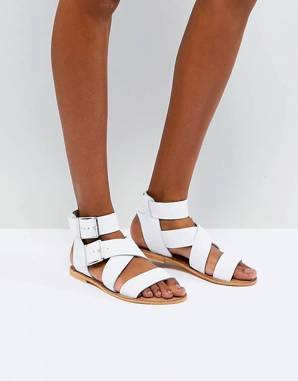 http://www.asos.com/asos/asos-fargo-leather-gladiator-flat-sandals/prd/9285157?clr=white&SearchQuery=white%20sandels&gridcolumn=3&gridrow=3&gridsize=4&pge=1&pgesize=72&totalstyles=171