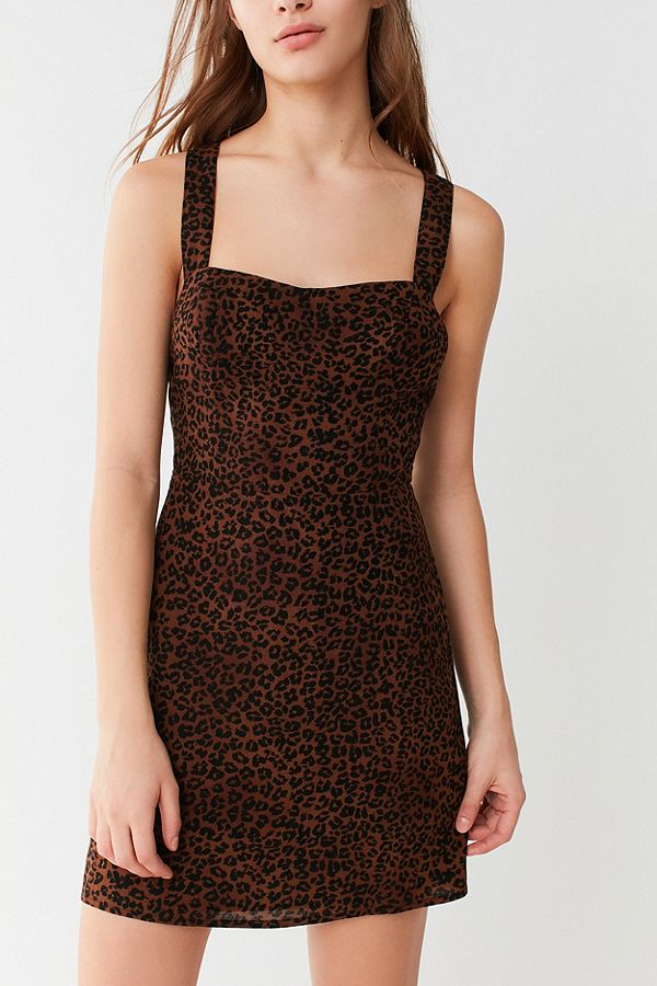 https://www.urbanoutfitters.com/shop/uo-animal-print-cross-back-mini-dress?category=Dresses%20%2B%20Rompers&color=020
