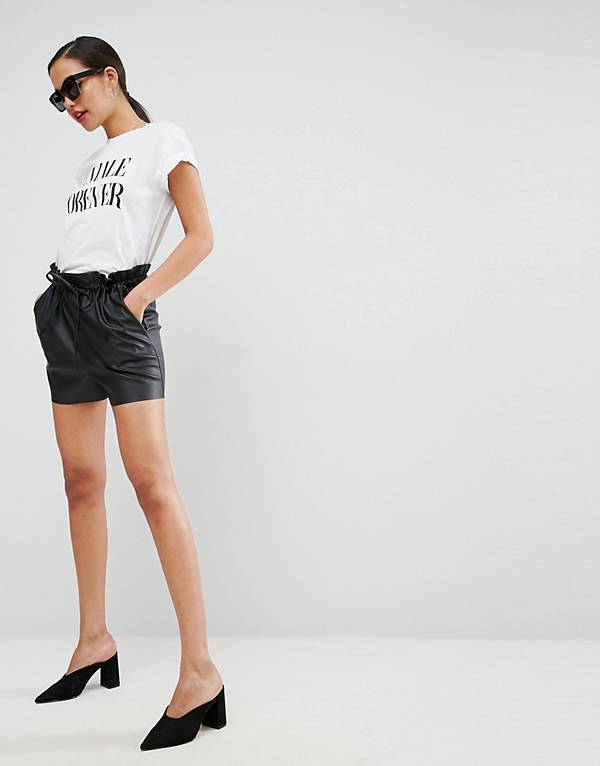 http://www.asos.com/au/asos/asos-leather-look-shorts-with-paper-bag-waist/prd/7896157?clr=black&SearchQuery=leather%20shorts&gridcolumn=4&gridrow=1&gridsize=4&pge=1&pgesize=72&totalstyles=4