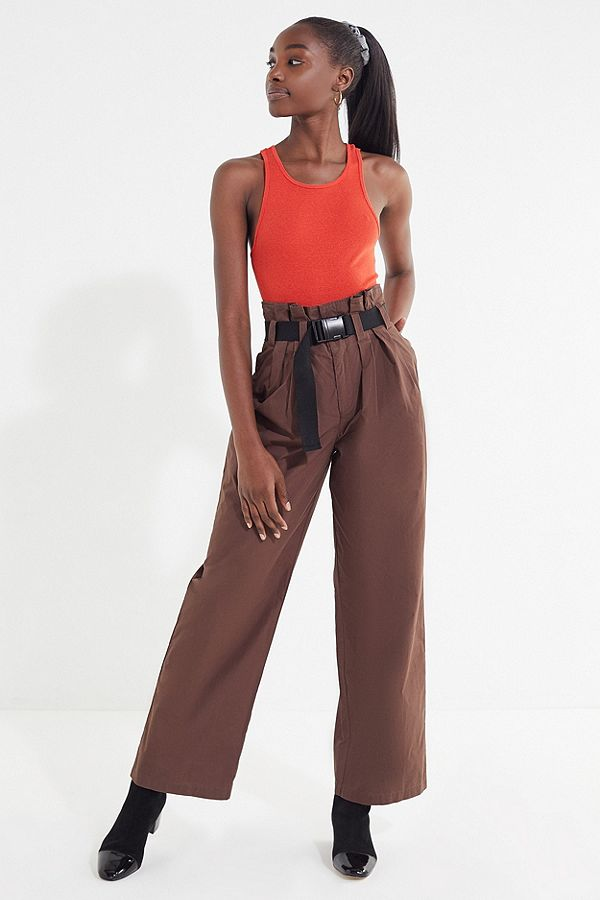 https://www.urbanoutfitters.com/shop/uo-sienna-belted-paperbag-pant?category=Bottoms&color=020