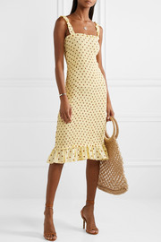 https://www.net-a-porter.com/ca/en/product/1117510/Faithfull_The_Brand/nadine-ruffled-smocked-polka-dot-crepe-midi-dress