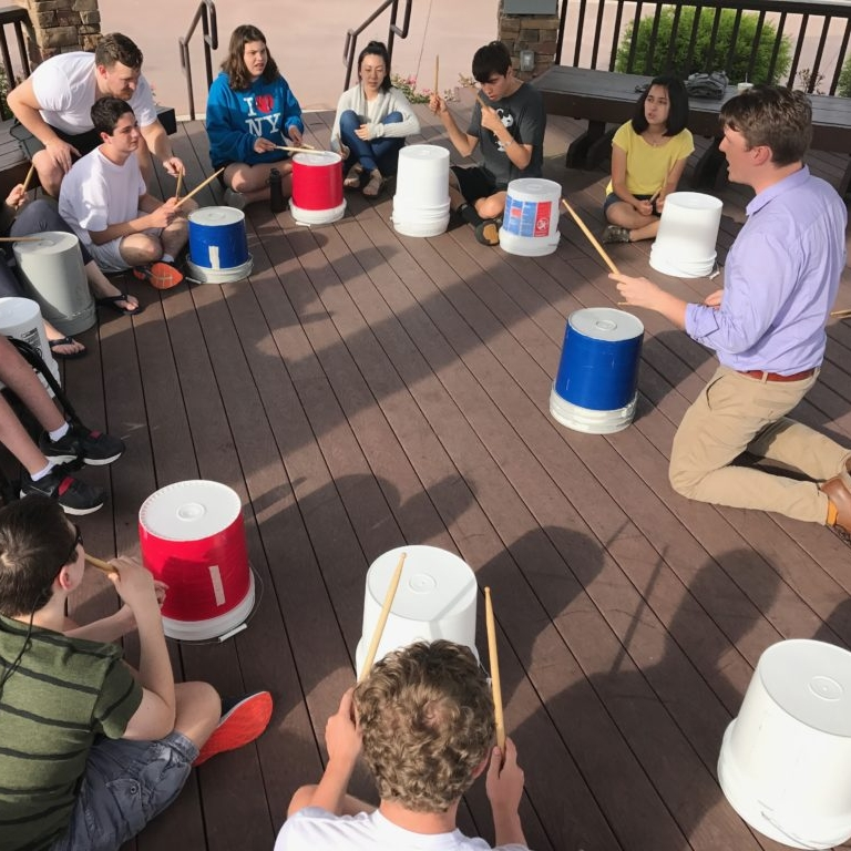 Summer Bucket Drumming