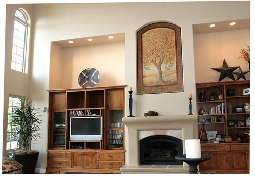 dining room fine art 22oak icon22 living room niche muraljpg dining room and entry marcie hawthorne murals fine arts and