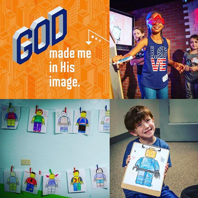All month long on UpStreet we are talking about Individuality: discovering who you are meant to be. Yesterday we talked about how we are all made in God's image 🙂 and there is nothing we can ever do to lose value in his sight 👀, even when we mess up. We also had a blast using our talents playing  blindfolded pictionary 🖼!