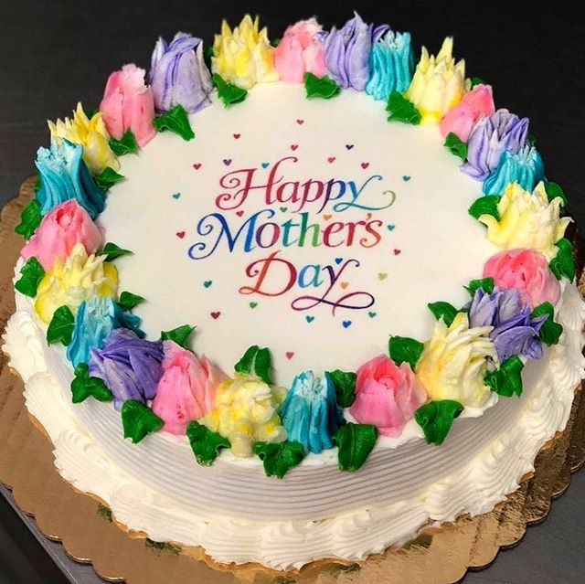 Happy almost Mother's Day! We're happy to announce that we can now print edible images, so stop in and let's talk about how we can make the perfect cake for you! #broadwaycakes