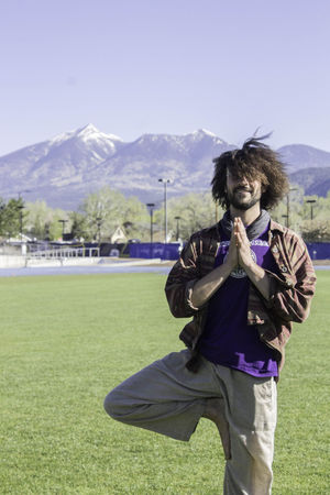 Devin Hubbard - Devin began his Yoga journey at a young age with aspirations of being a traveling circus contortionist, upon seeing Devin's interest in flexibility and physical practice, his uncle introduced him to yoga. While attending NAU, Devin studied English, Education, and had an undeclared minor in Yoga, taking as many classes as his schedule and body would allow. In 2010 Devin began teaching yoga at NAU sharing his passion with his peers and professors. In 2013 Devin attended a 200 hour yoga teacher certification held at the White Lotus Foundation, led by Ganga White and Tracy Rich. The training focused on Flow Yoga which incorporates the body, mind, and spirit into a deeply centering and stress relieving practice. The training reassured Devin of his life's work which is to share the lessons and practices of yoga with everyone he crosses paths with.