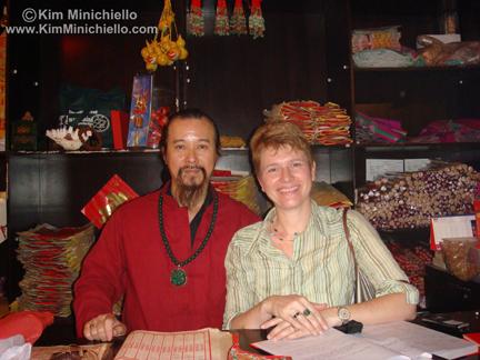 Me & Sammy Lo, Pak Tai Temple, Wan Chai, Hong Kong