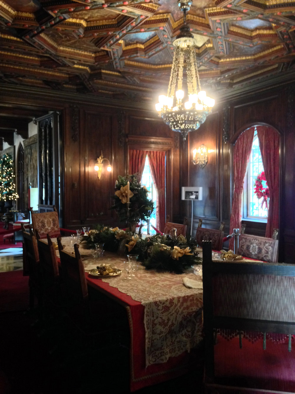 Dining Room, Ringling Mansion