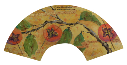 Persimmon Fan