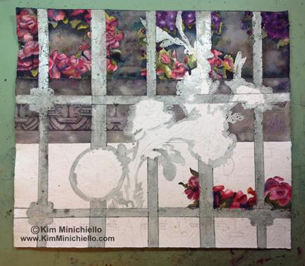 Work in Progress of Paris Passy Gate