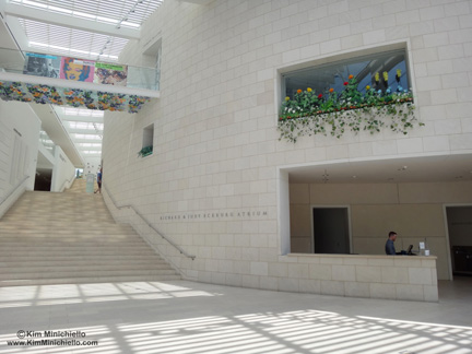 Main Lobby of the Jepson Center