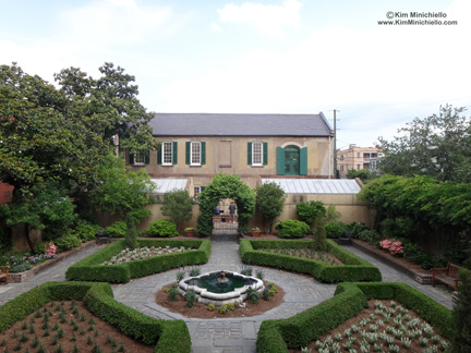 The Garden and the Carriage House, Former Stables and Slave Quarters of the Owens Thomas House