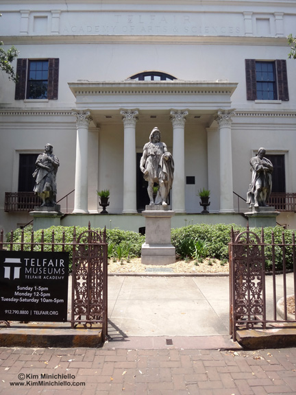 Entrance to the Telfair Academy