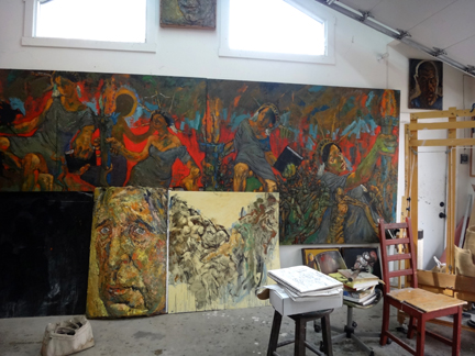 The Studio of Mark Strickland