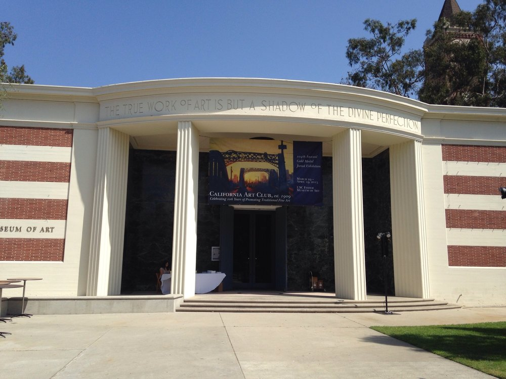 The Fisher Museum of Art on the USC Campus