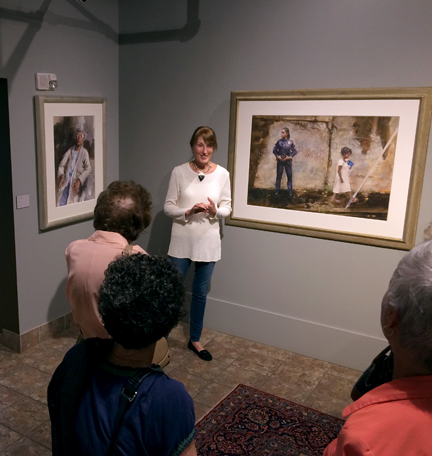 Mary talks about how she composed these two works and the stories behind them.