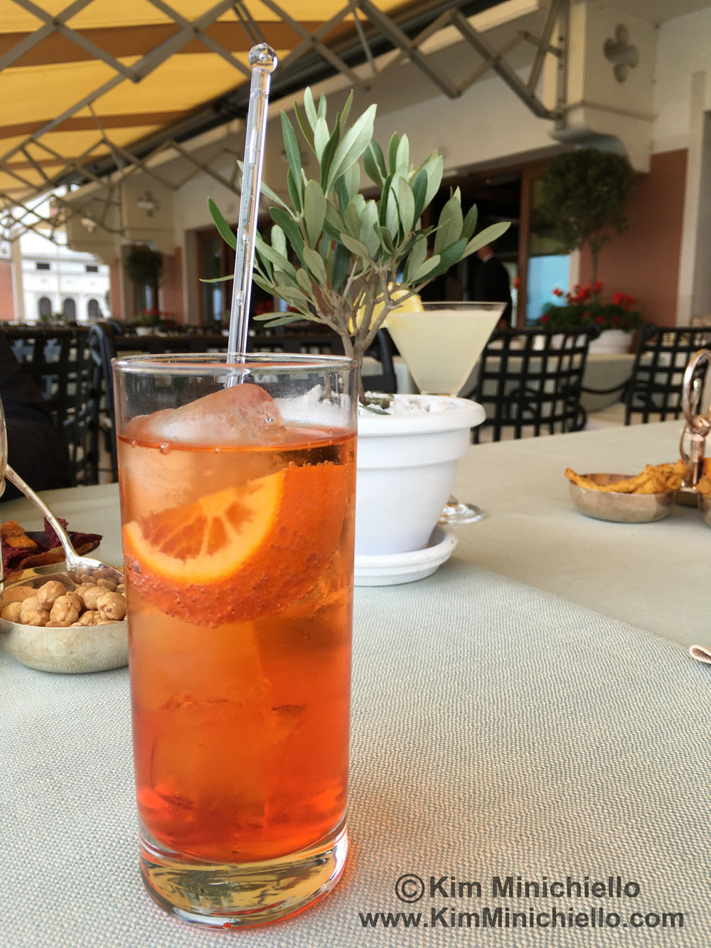 My favorite Aperitivo, The Spritz