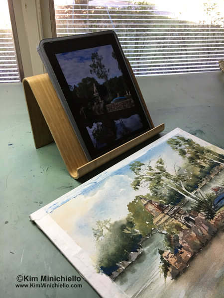 Bamboo iPad Holder from IKEA