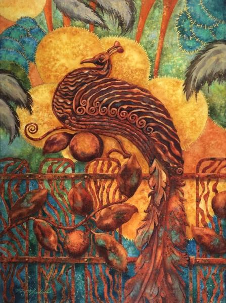 Parisian Peacock