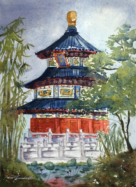 Temple of Heaven (En Plein Air)